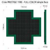 Croix PRESTIGE 1180 Full color, Simple face