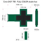 Croix EASY 700 Full color, Double face