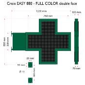 Croix EASY 880 Full color, Double face