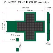 Croix EASY 1080 Full color, Double face