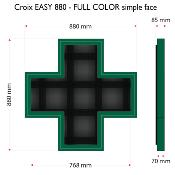 Croix EASY 880 Full color, Simple face